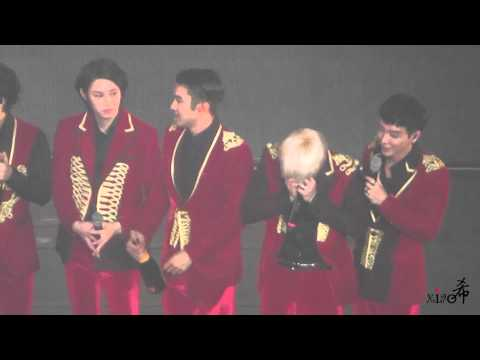 20140921 supershow in seoul  百场蛋糕部分