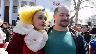 Юморина 2018 в Одессе (парад). Ukraine, Odessa. Festival of laughter.