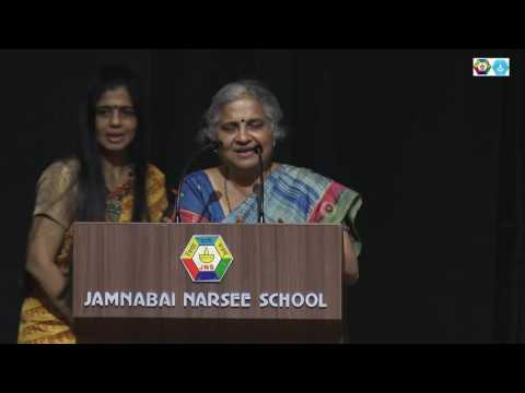 Mrs. Sudha Murty at Jamnabai Narsee Campus