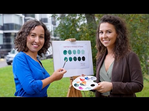 Учимся видеть свои цвета с помощью красок / Основы определения цветотипа
