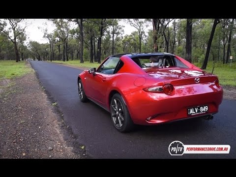 2017 Mazda MX-5 RF (manual) 0-100km/h & engine sound