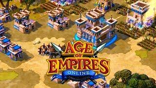 AGE OF EMPIRES ONLINE - EGIPCIOS VS CELTAS