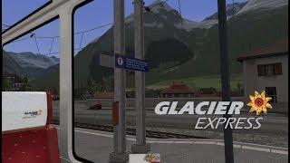 Train Simulator 2017 | Passagier im Glacier Express von Bergün nach Preda
