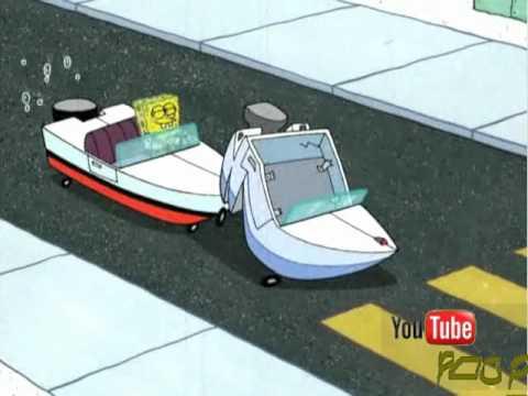 Spongebob Car Crash