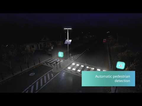 Siemens developed an autonomous solution to increase safety on zebra crossings!