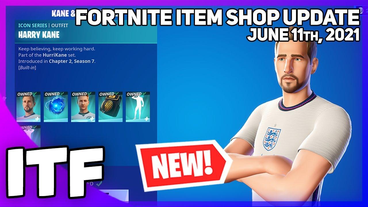 Download Fortnite Item Shop *NEW* FOOTBALL ICONS BUNDLE! [June 11th, 2021] (Fortnite Battle Royale)