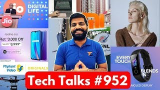 Tech Talks #952 - Jio All in One Free IUC, Xiaomi Budget 5G, Moto 75inch, 19 Hour Flight, 16inch Mac