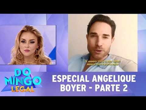 Domingo Legal (16/07/17) - Especial Angelique Boyer - Parte 2