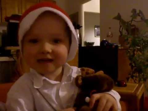 Kind erzählt Weihnachtsgeschichte