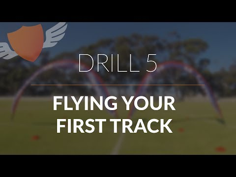 How-to Fly FPV Quadcopter/Drone // Beginner: Drill 5 // Flying your first track!