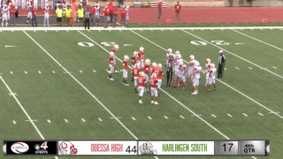 Odessa @ Harlingen south Football Game