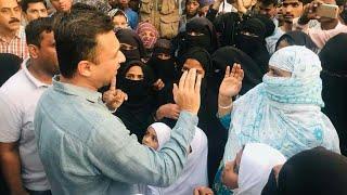 MIM Hero Akbar owaisi Election Campaign  At Hashamabad