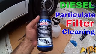 Mercedes Sprinter Diesel Particulate Filter Cleaning DIY Ligui Moly Pro-Line