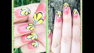 Floral nail art for beginners | Beauty Intact Thumbnail
