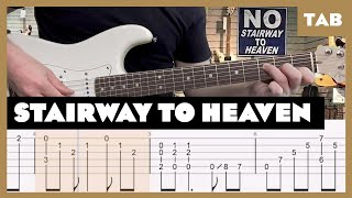 Stairway to Heaven Led Zeppelin Cover   Guitar Tab   Lesson   Tutorial