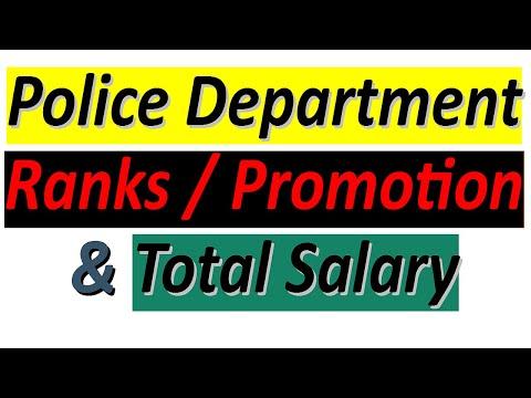 Police Department Ranks   Police Salary