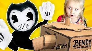 Save Little Flash from BENDY\'s INK MACHINE! (Hide and Seek Family Game) KIDCITY