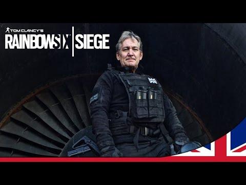 Rainbow Six Siege - SAS training with Chris Ryan [UK]