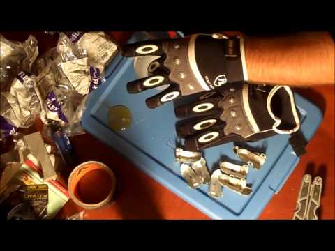 Clacker gloves with sparks.wmv