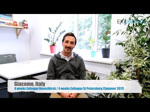 Review (in Italian) of Exlinguo Russian Language Schools by Giacomo, Italy | Summer 2017