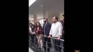 Dicle Üniversitesi'nden ihraç edilen Aydın Gelmez alkışlarla uğurlandı