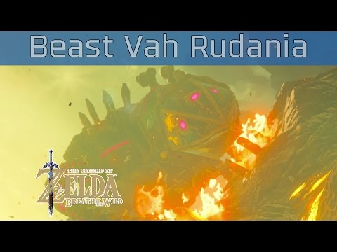 The Legend of Zelda: Breath of the Wild - Divine Beast Vah Rudania Walkthrough [HD 1080P]
