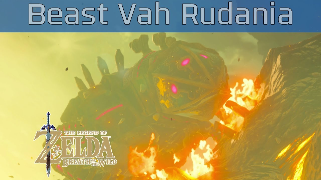 divine beast vah rudania how to get there