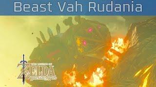 The Legend of Zelda: Breath of the Wild - Divine Beast Vah Rudania Walkthrough [HD 1080P]