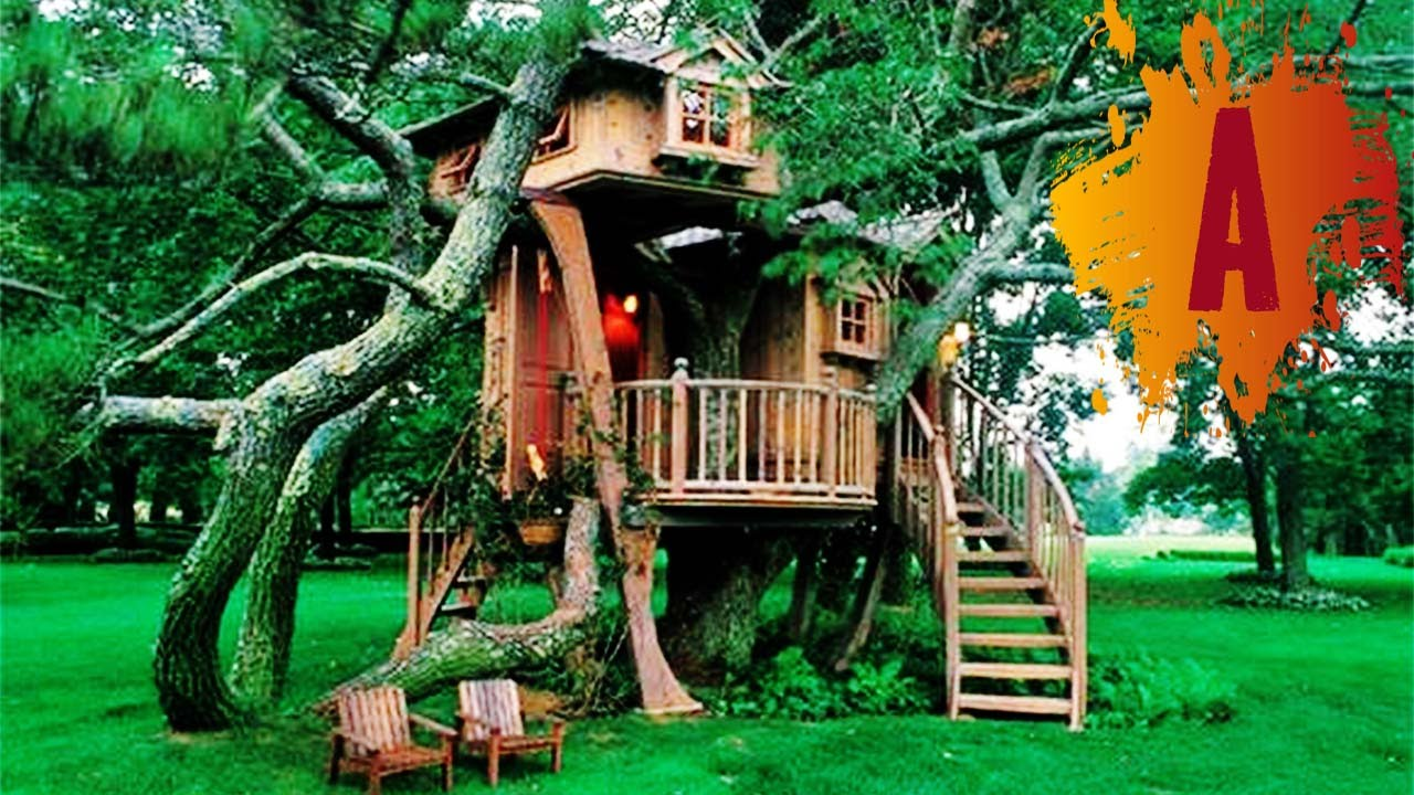 10 most amazing treehouses in the world youtube - Biggest Treehouse In The World 2017