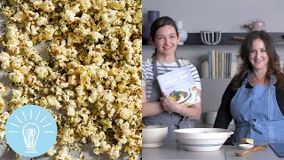 Deb Perelman's Kale-Dusted Pecorino Popcorn | Genius Recipes