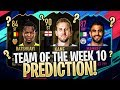TOTW 10 AGGREGATE PREDICTIONS! BLACK FRIDAY TRADING TIPS! FIFA 19 Ultimate Team