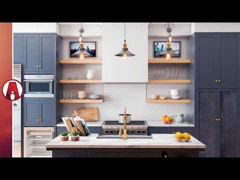 Interior Modeling Narrated Timelapse | Vray 3.6 for Sketchup