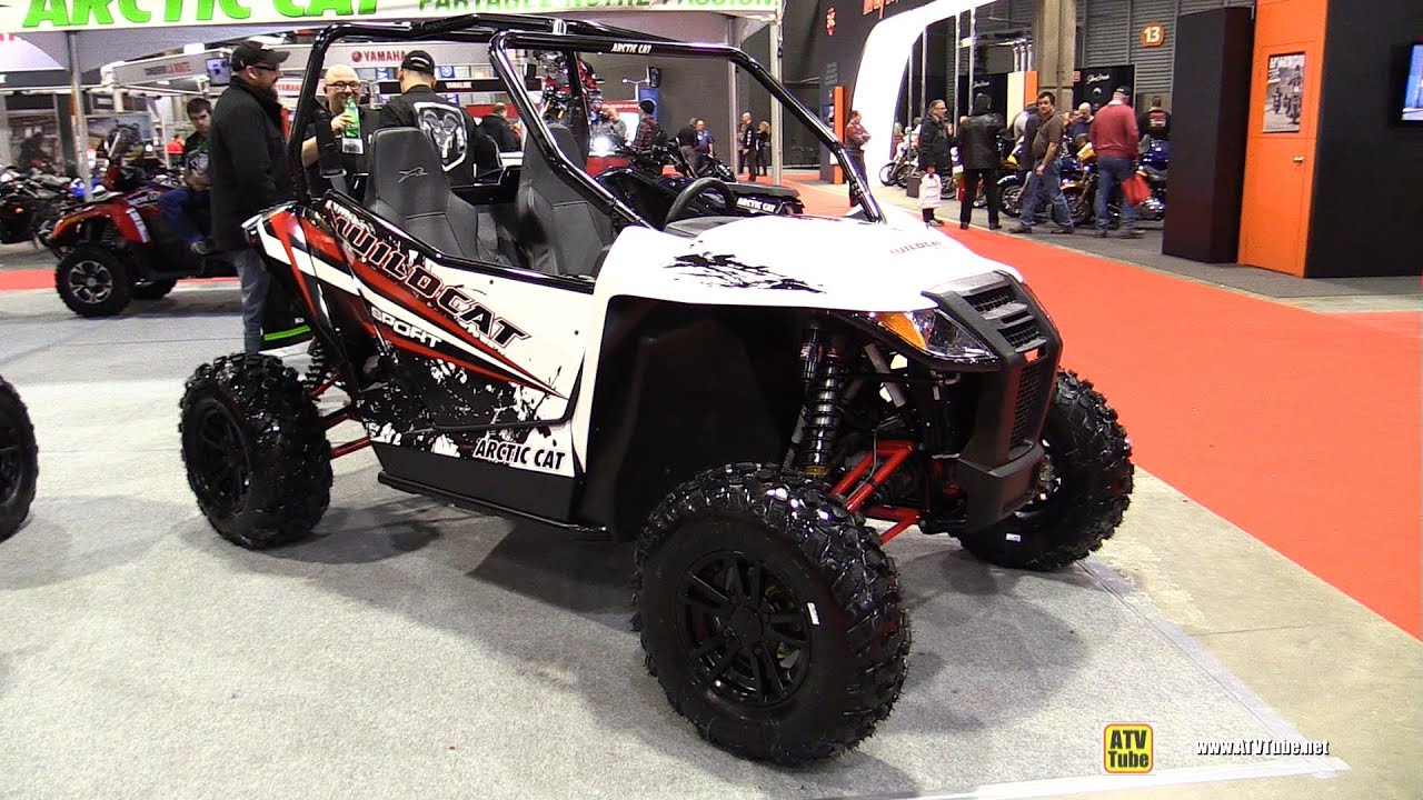 2015 Arctic Cat Wildcat Sport Limited Side By Side Atv