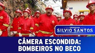 Câmera Escondida: Bombeiros No Beco