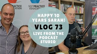 HAPPY 10 YEARS SARAH! + Why does Kobi call everybody handsome? PLUS MORE! - VLOG 73