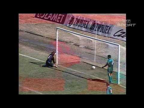 Piłka 1995 Pogoń Szczecin–GKS Katowice, Zagłębie Lubin–Stal Mielec. Skróty Meczy Kolejki