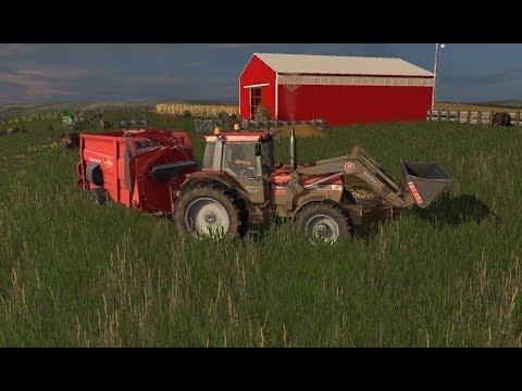 Let's get it girls! Puttin' in work on the dedi! Farming Simulator 2017 #NoCreekFarms