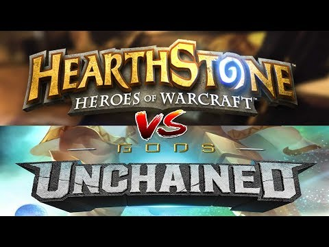 Hearthstone VS Gods Unchained is a trading card game on Ethereum Blockchain