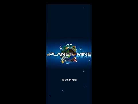 A planet of mine again  