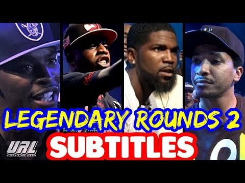 Legendary Rounds Vol 2 SUBTITLES - Hitman Holla, Tsu Surf, Hollow Da Don, K-Shine | Masked Inasense