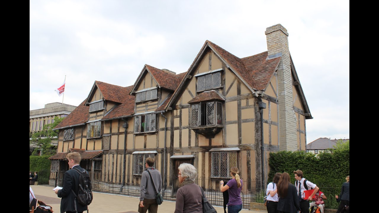 A Visit To Shakespeares Birthplace In Stratford Upon Avon