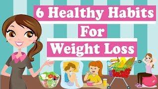Healthy eating habits ...