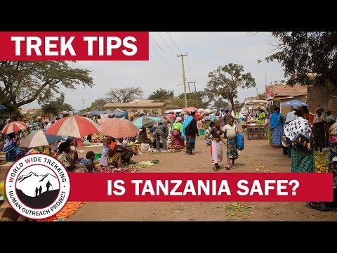 General Safety in Tanzania for Kilimanjaro & Safari | Trek Tips