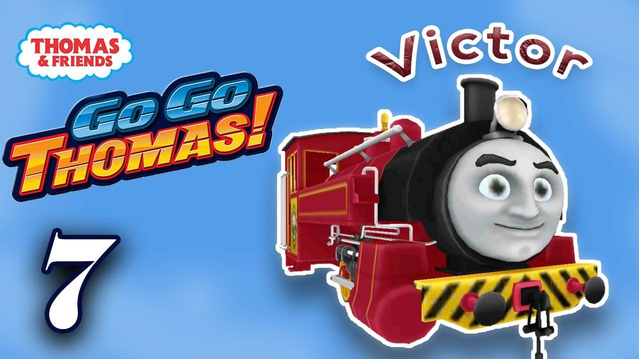 Thomas & Friends: Go Go Thomas (Victor) Kids Train Racing Adventures Part 7