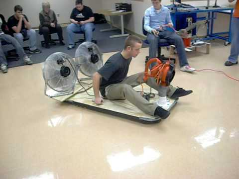 eacc electronics and robotics hovercraft project test run youtube