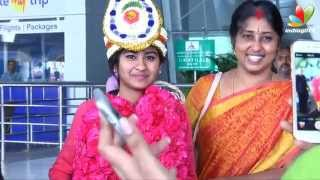 Indian Idol Junior Winner Nithyasree Shares Her Experience   Interview