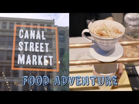 Pour Over Miso Soup & Canal Street Market Food Hall! | OTGW Adventures