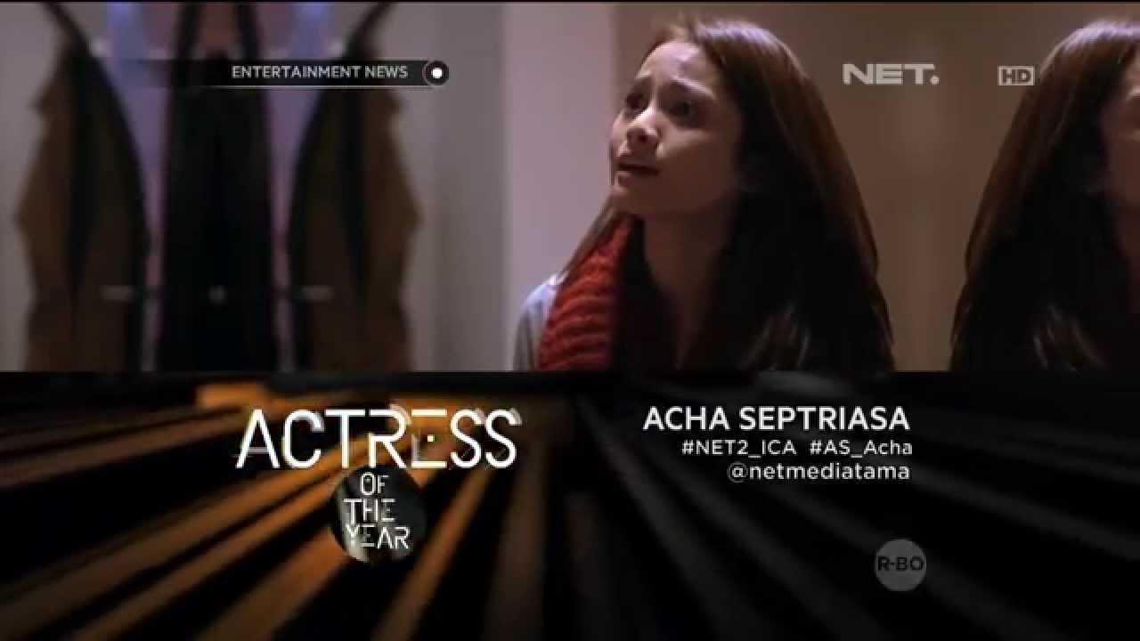 Acha septriasa menjadi nominator actress of the year ica 2015