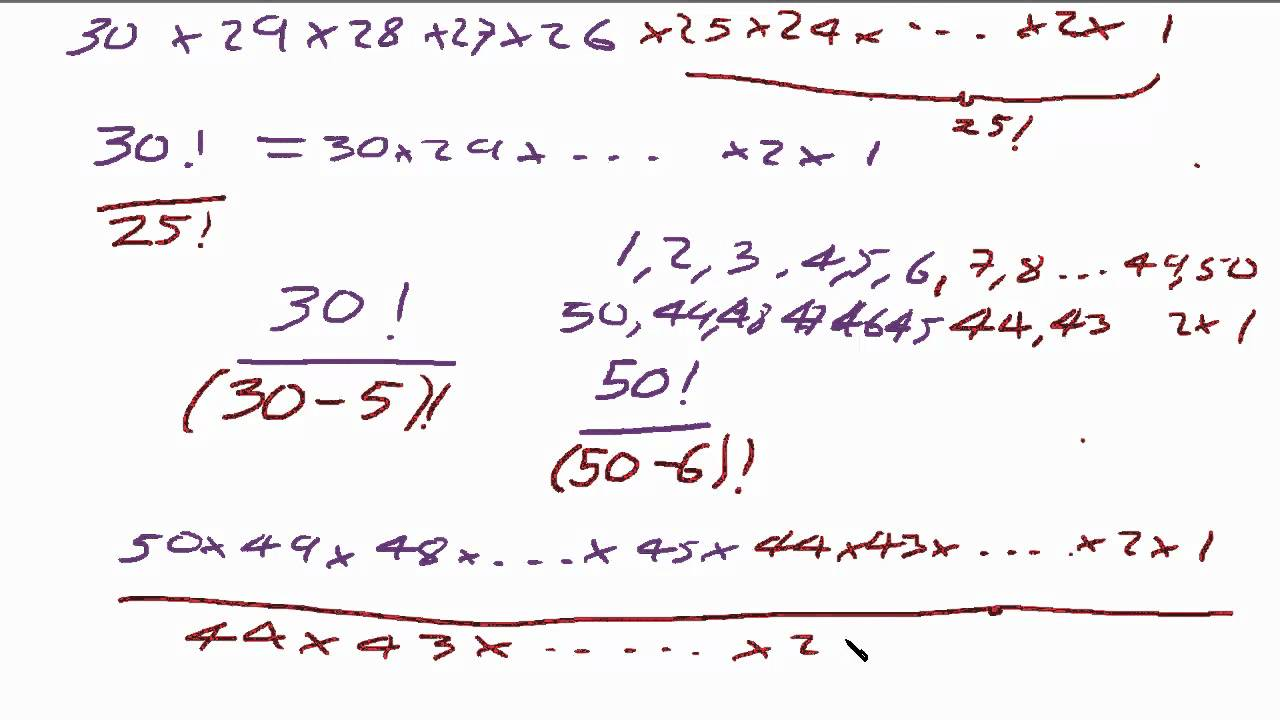 Formula and Equations