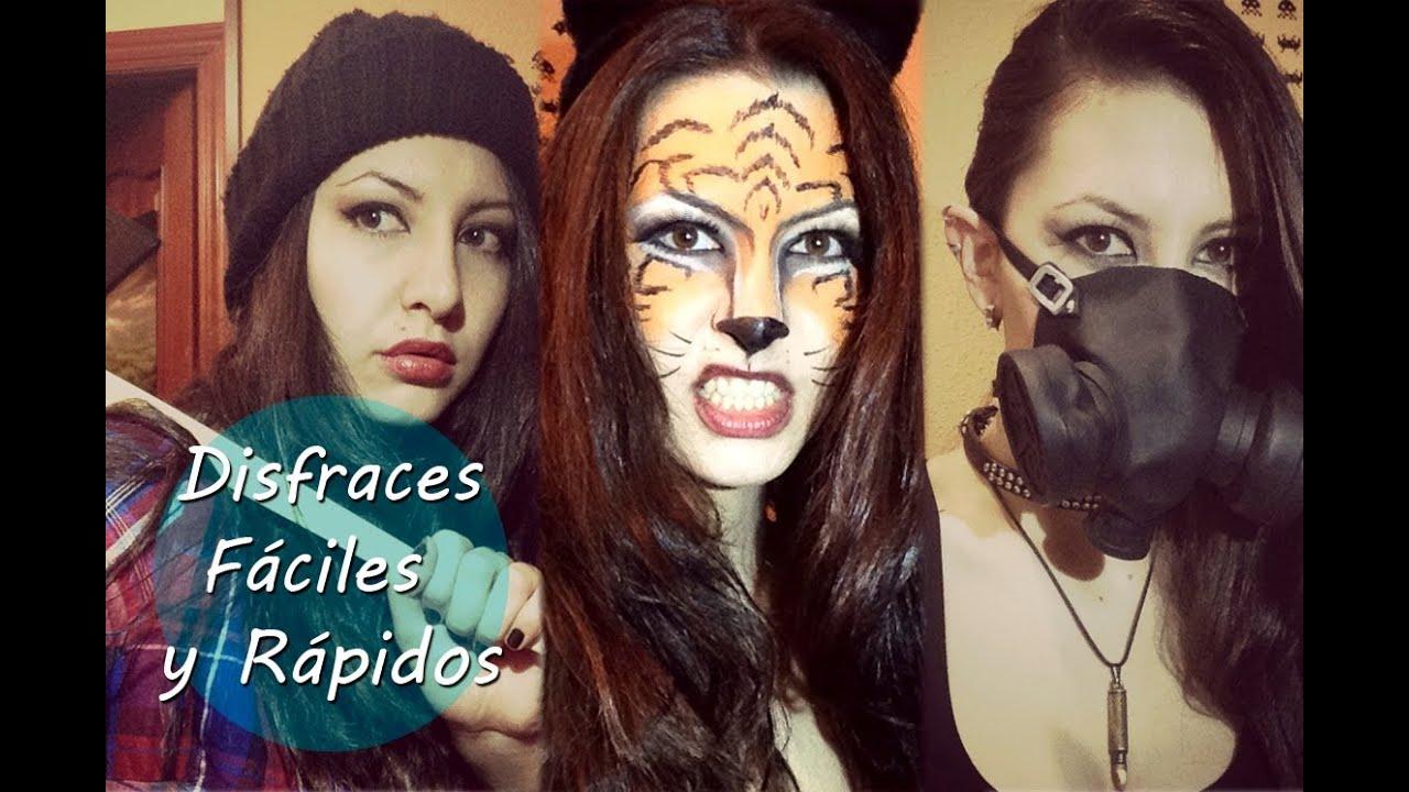 Disfraces caseros y maquillajes fciles y rpidos para Halloween o